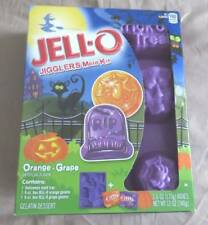 NEW Jello JIGGLERS Mold Kit HALLOWEEN Spider Tombstone *Best by 2016*