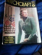 1936 September Stitchcraft Magazine