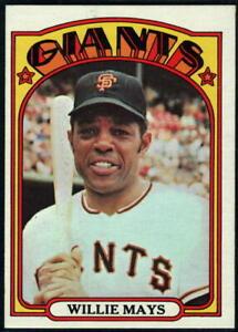 1972 Topps Baseball - Pick A Card - Cards 1-250