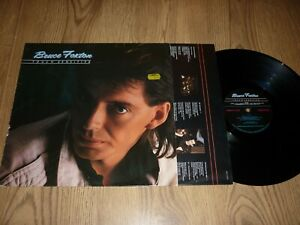 BRUCE FOXTON ( THE JAM ) - Touch Sensitive - UK LP with INNER - SIGNED