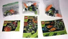 Lego Power Miners Sets  8956, 8957, 8958 with Minifigures and Instructions