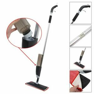 700ML Disposable Spray Flat Mop Lazy Cleaning Tool Includes 2 Microfiber Pads