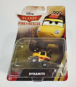 DYNAMITE DISNEY PLANES CARS FIRE & RESCUE SMOKEJUMPERS DIE-CAST MOSC 2014 RARE