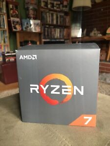 AMD Ryzen 7 2700X 8-Core Processor 3.7 GHz (4.3 Max) LED Cooler Fast Ship!!