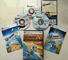 FLIGHT SIMULATOR X Gold (Microsoft) FSX for Win XP,7,10 (Learn to Fly Planes)