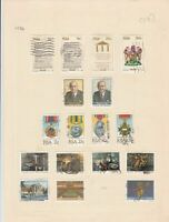 south african 1984 stamps page ref 17904