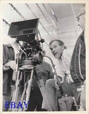 Director Sam Peckinpah VINTAGE Photo The Getaway candid on set