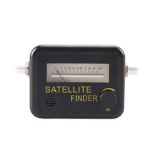Satellite Finder Find Alignment Signal Meter Receptor For Sat Dish TV TOCA