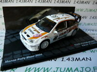 RIT49E voiture 1/43 IXO Altaya Rallye FORD Focus RS WRC Valentino ROSSI 2006