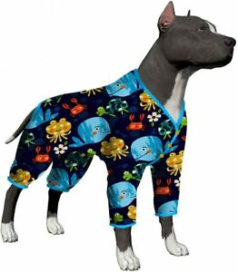 LovinPet Doberman Pajamas Dogs/Full Coverage Dog Pjs/Large Dog Jumpsuit