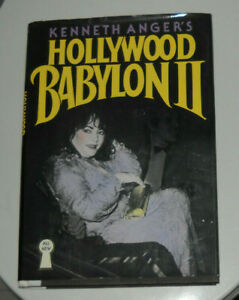 KENNETH ANGER'S HOLLYWOOD BABYLON  II ( E.P. DUTTON 1984 FIRST EDITION )