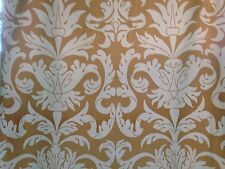 """1 Pair Italian Medallion Design  Lined Ready Made Curtains 45"""" Wide X 90"""" Drop"""