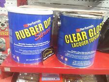 Vernice pellicola removibile in gomma PLASTI DIP 3,78 litri barattolo plastidip