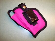 PINK Gun Holster RIGHT Hand Belt Clip Holster WALTHER P 22, PK 380 w/ Laser