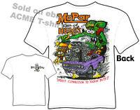 Mopar King Of Hemis Rat Fink T Shirt Dodge Shirt Ed Big Daddy Clothing T Shirts
