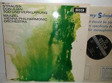 SXL 6134 Richard Strauss Don Juan Vienna Philharmonic Orchestra Lorin Maazel ED1