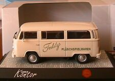 VOLKSWAGEN BULLI VW T2B BUS VITRE TEDDY HERMANN PREMIUM CLASSIXXS 11750 1/43
