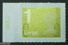 1st Large NVI - MA11 - GOLD Colour Tab  from Counter Sheet SG; U2960