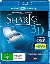 Sharks 3D - NEW Blu-Ray
