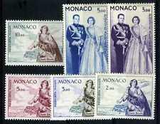 1960-61 MONACO POSTE AERIENNE YVERT ET TELLI. N°73-78 xx