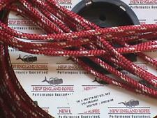 """1/4"""" Sta-set Rope, per-10 ft, New England Ropes Red Staset 2101-08"""