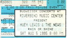 VINTAGE 1995 HUEY LEWIS & THE NEWS CONCERT TICKET STUB RIVERBEND CINCINNATI