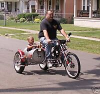 Schwinn OCC Chopper bicycle exhaust loud .
