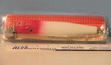 "CREEK CHUB 8"" Wooden Pikie - MUSKIE LURE - Red & White  IW6800RW"