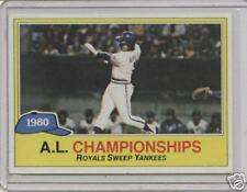 1981 Topps 1980 American League Championships Card