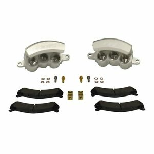 1999-06 GM 2500/3500 SSBC Quick Change Three Piston Front Caliper Kit (clear)