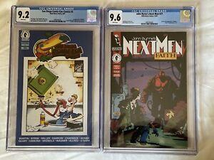 San Diego Comic Con Comics 2 CGC 9.2 & Next Men #21 CGC 9.6 First Hellboy