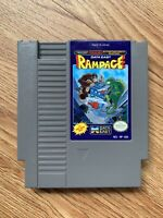 Rampage (Nintendo Entertainment System, NES) *AUTHENTIC, TESTED*