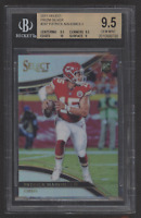2017 Select Silver Prizm Field Level #247 Patrick Mahomes II RC Rookie BGS 9.5