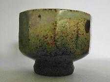 Mike Dodd Cutsided studio pot- ash glaze
