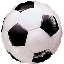 Football Round Foil Helium Balloon 46cm/18Inch,Great fun Football Themed Parties