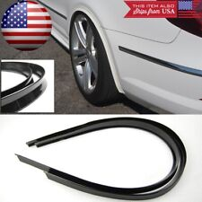 """1 Pair 47"""" Black Arch Wide Body Fender Flares Extension Lip Gua For Honda Acura"""