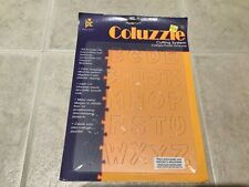 Provo Craft COLUZZLE Alphabet ~ Collage Puzzle Template ~Made In USA~ NEW