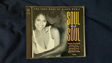 COMPILATION - SOUL TO SOUL (COMMODORES J. BROWN GAYNOR...). 2 CD