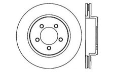 Front Disc Brake Rotor-C-Tek Standard Brake Rotors Centric 121.65091