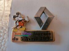 PIN'S  EURODISNEY 1992 /  RENAULT /  ARTHUS BERTRAND   /  SUPERBE /  RARE
