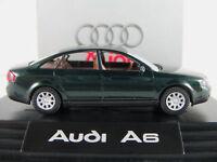 Wiking/Audi 13.225.5 Audi A6 Limousine (1997) in grünmetallic 1:87/H0 NEU/OVP/PC