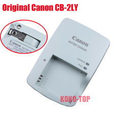 New Genuine Original Canon CB-2LY Charger NB-6L NB-6LH SD770 SD1200  IXUS300 S95