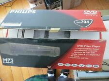 Philips DVD704AT DVD-Video Player with CD-R/CD-RW/MP3 Remote & Manual Included