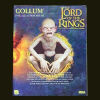 NECA 1/4 Scale Lord of the Rings Gollum Smeagol Movable Figure Doll