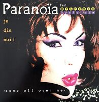 Paranoïa Feat Princess Hortensia ‎CD Single Come All Over Me (Je Dis Oui!) -