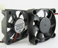 50pcs Brushless DC Cooling Fan 50x50x10mm 5010 7 blades 24V 2pin 2.54 Connector
