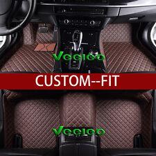 8 Colors Leather Floor Mats for BMW 740Li /750Li /760Li/xDrive 2009-2013 Carpets
