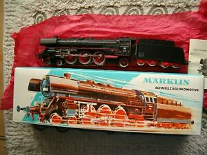 MÄRKLIN H0 3048 Tender F 801/9 Steam Locomotive 01097  Smoke unit  mint box