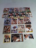 *****Anthony Munoz*****  Lot of 160+ cards.....63 DIFFERENT / Football