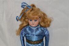 Antique Josef Deuerlein German Bisque Doll with Closing Eyes 370 A.M. 3/0 DEP